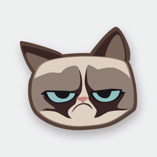Grumpmoji Grumpy Cat Stickers