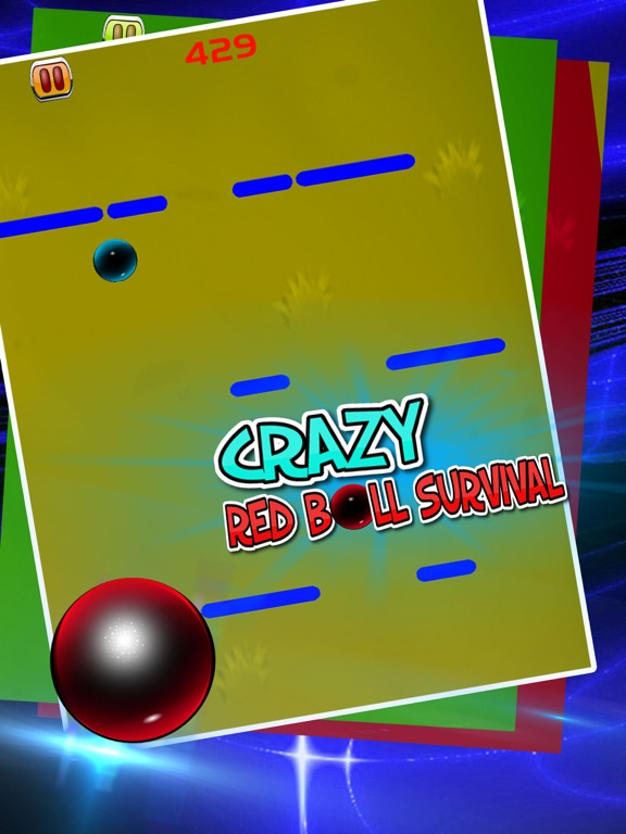 Crazy Red Ball Survival-ipad-3