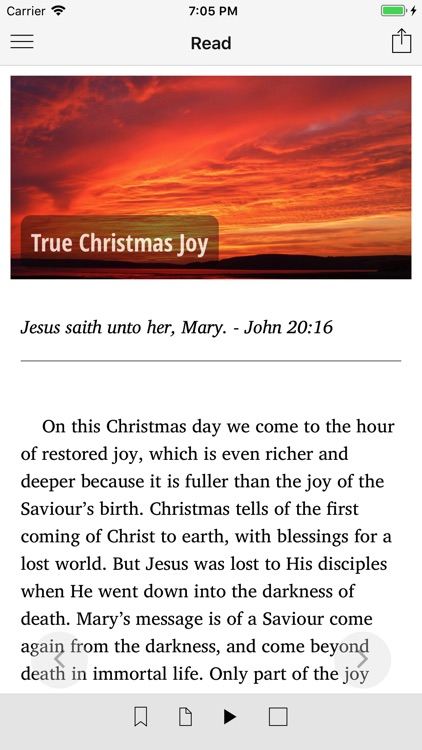 Daily Word of God