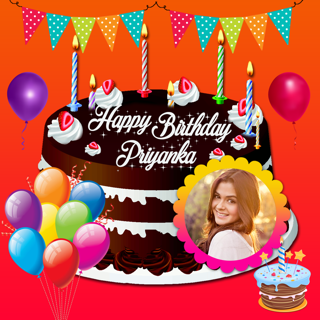Name And Photo On Birthday Cakes Video