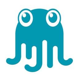 飞扬的像素章鱼