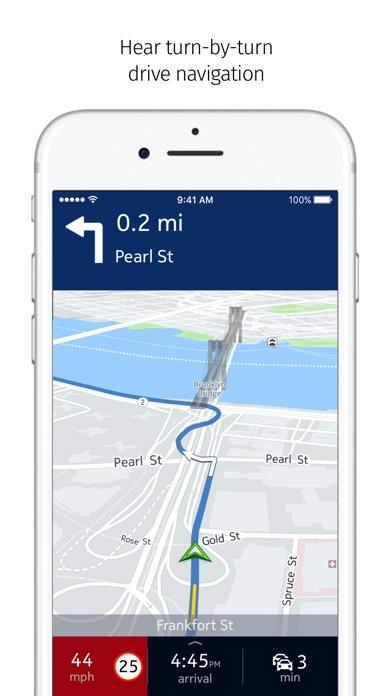 HERE WeGo - City navigation Screenshot on iOS