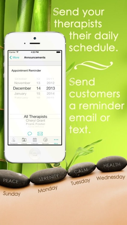 Massage Therapy Appointment Manager screenshot-3