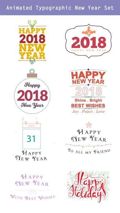 Happy New Year 2019 - Animated screenshot 3