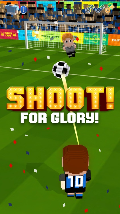 Blocky Soccer screenshot-2