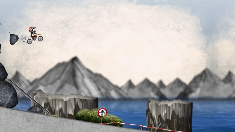Stickman Downhill - Motocross screenshot-1