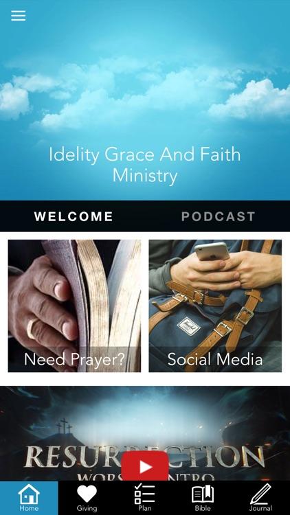 Idelity Grace And Faith
