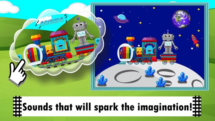 Train Games Dinosaur & Zoo Fun
