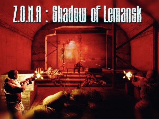 Z.O.N.A Shadow of Lemansk на iPad