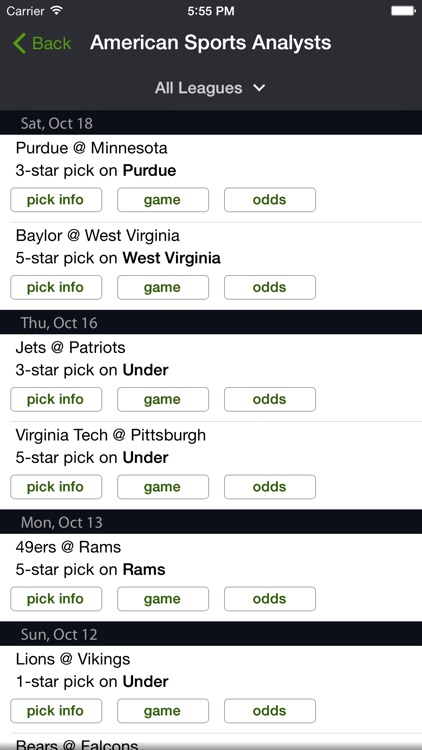 Live Scores and Odds screenshot-4