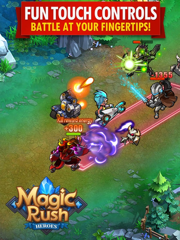 Magic Rush: Heroes на iPad