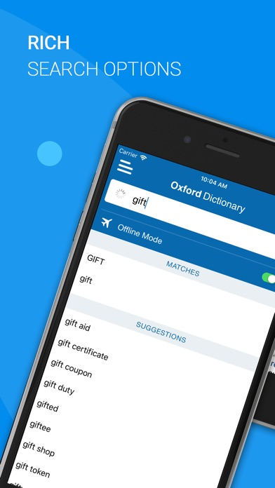 Screenshot for Oxford English Dictionary 2018 in Denmark App Store