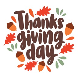 Thanksgiving Day Stickers 2018