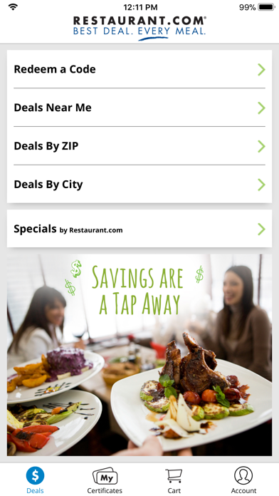 Restaurantcom review screenshots