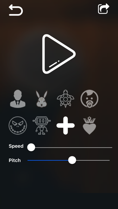 Voice Changer&Sound Effects Di app image