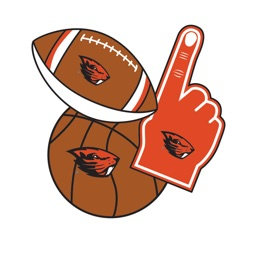 Oregon State Beavers Selfie Stickers