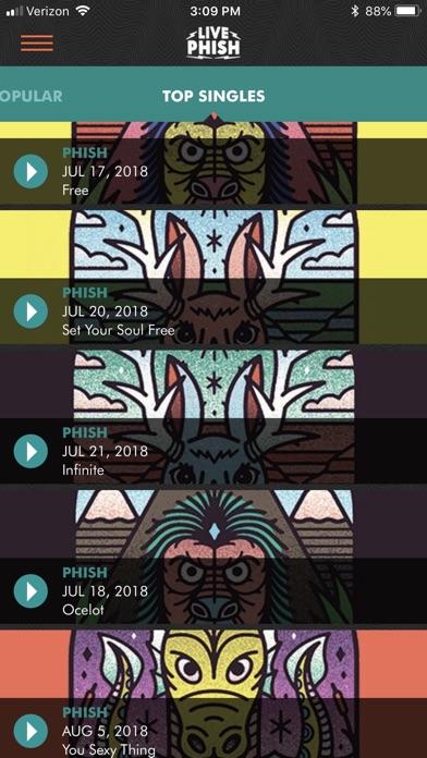 LivePhish app image
