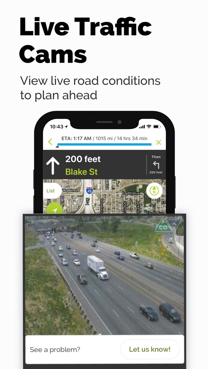MapQuest GPS Navigation & Maps Screenshot
