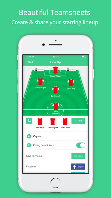 Match Report Pro Club App By Precision Pass