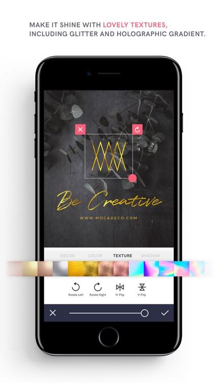 MocaDeco - Be Creative screenshot-3