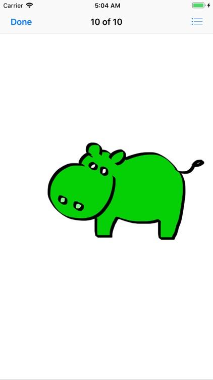 My Hippo Sticker Pack screenshot-4