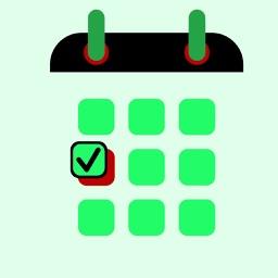 Work time calendar planning