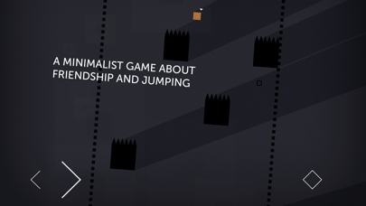 Screenshot from Thomas Was Alone