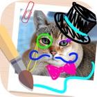 Pintar desenhos em imagens icon