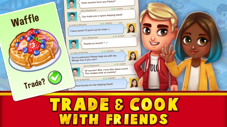 Food Street - Restaurant Game screenshot-4