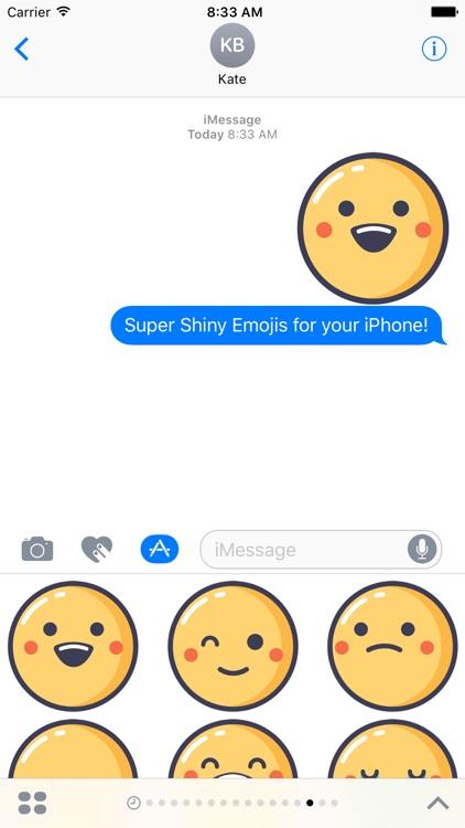 Super Shiny Emojis