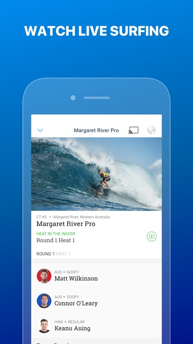 World Surf League screenshot one