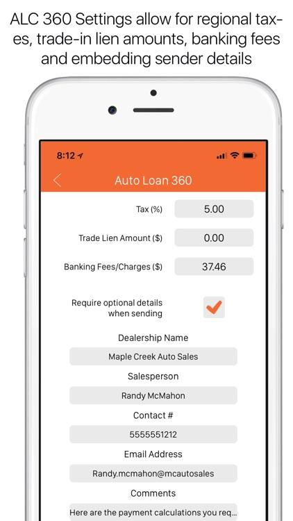 Auto Loan Calculator 360 screenshot-6