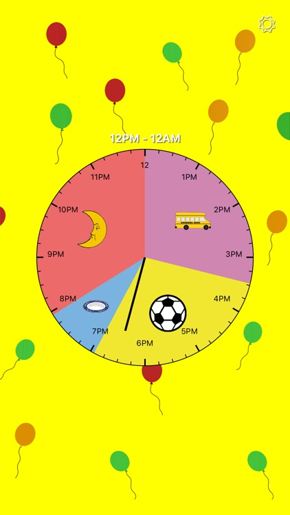 Kids Activity Clock screenshot-3