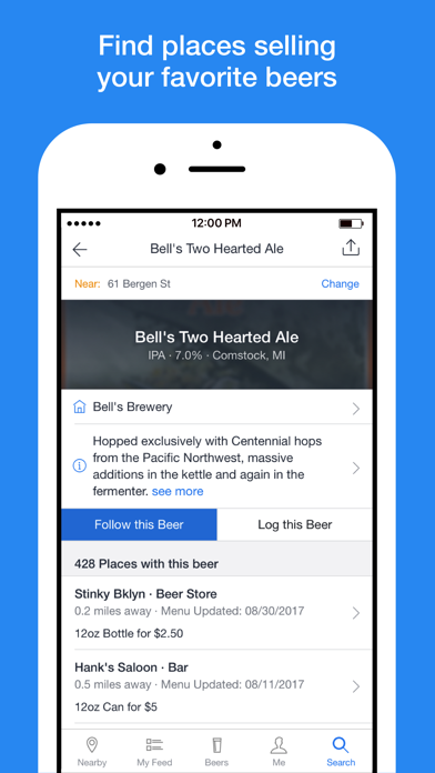BeerMenus - Find Great Beer screenshot