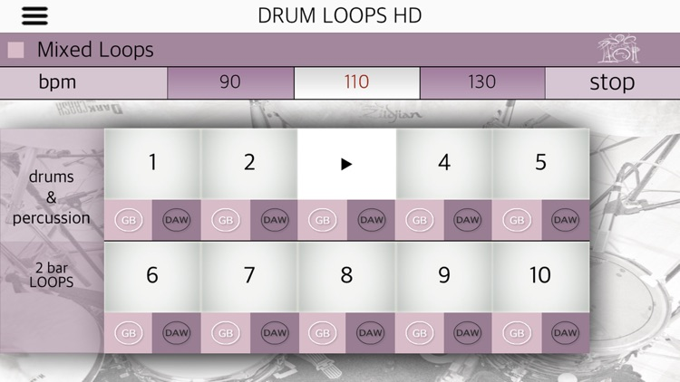Drum Loops HD screenshot-4
