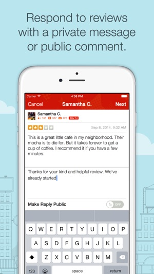 Yelp for Business Owners on the App Store