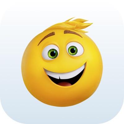 The Emoji Movie Stickers ios app