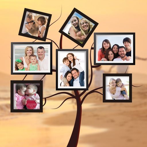 Collage Family Photo Frame