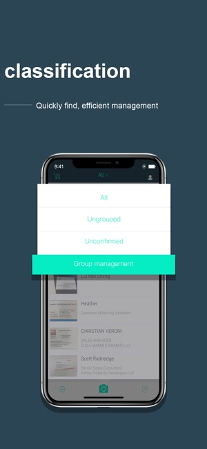 Foxcard business card scanner on the app store foxcard business card scanner on the app store reheart Images