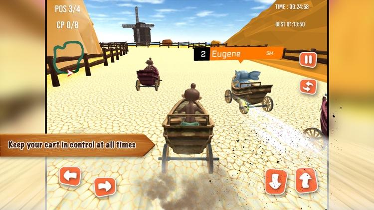 Animal Go Kart Racing Pro screenshot-3