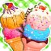 冰淇淋游戏 - 芭比女生制作甜品