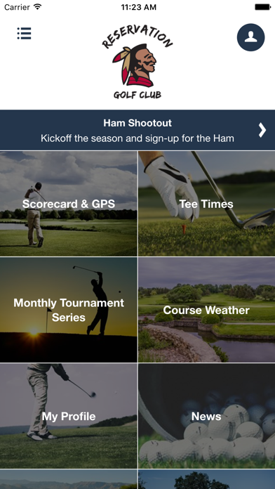 Reservation Golf Club screenshot two