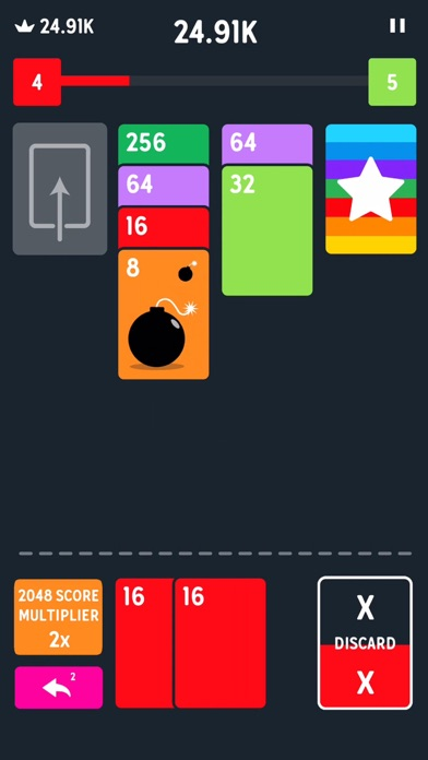 Twenty48 Solitaire Screenshot 1