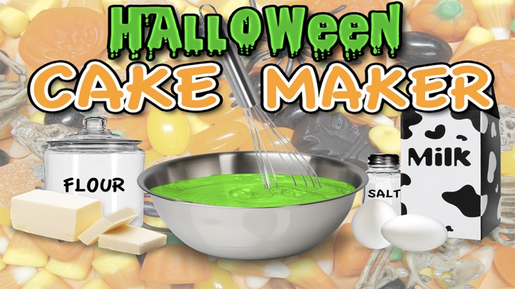 Halloween Candy Cake Maker - Bake & Cook