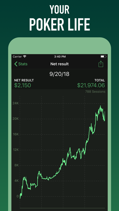 Poker Analytics 5 - Tracker Screenshot