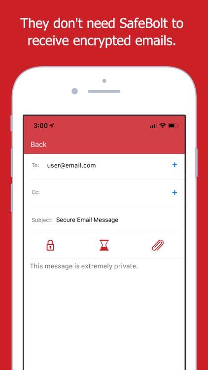 SafeBolt Mail screenshot-3