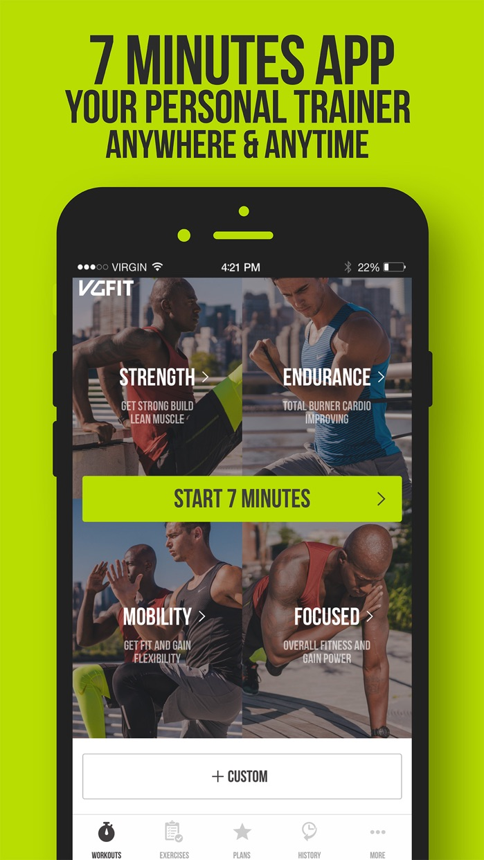 7 Minute Workout VGFIT Screenshot
