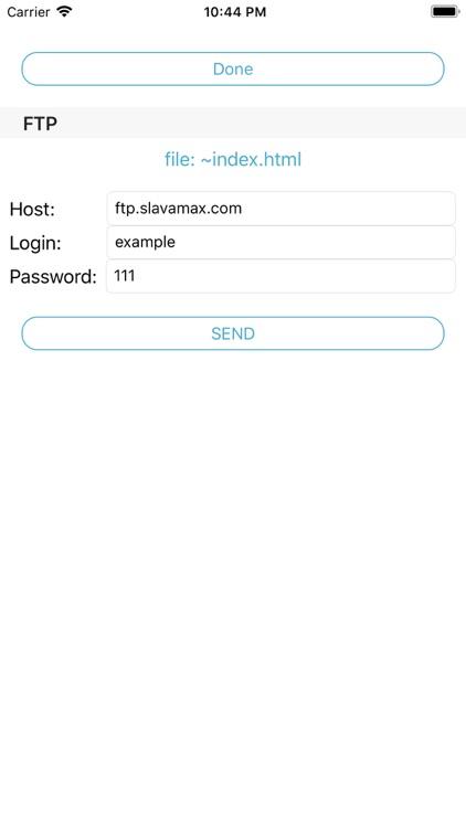 FTP uploader and downloader screenshot-3