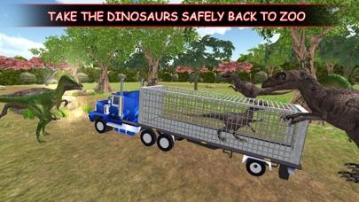 Dino Truck :Angry Dino Capture screenshot two