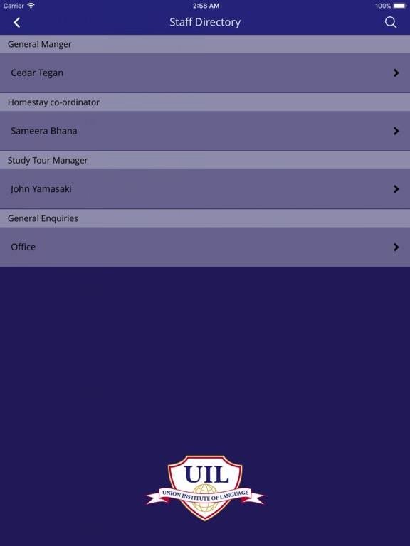 iPad Image of Union Institute of Language